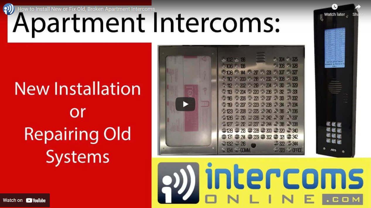 Apartment Intercom Video